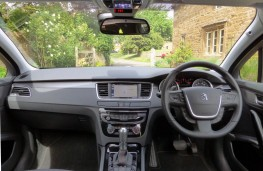 Peugeot 508 SW, dashboard