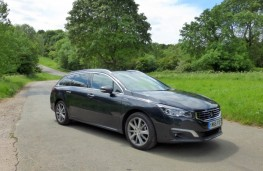 Peugeot 508 SW, front static