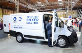 Peugeot Boxer Electric launched at the Commercial Vehicle Show