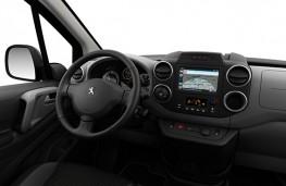 Peugeot Partner Tepee Electric 2017 cockpit