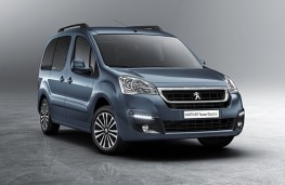 Peugeot Partner Tepee Electric 2017 front