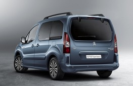 Peugeot Partner Tepee Electric 2017 rear