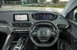 Peugeot 3008 GT Line, controls