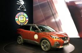 Peugeot 3008, European Car of the Year, Geneva Motor Show 2017