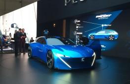 Peugeot Inspire concept, front, Geneva Motor Show 2017