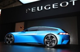 Peugeot Inspire concept, side, Geneva Motor Show 2017
