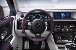 Rolls-Royce Phantom, 2018, dashboard