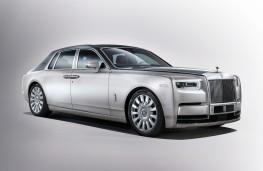 Rolls-Royce Phantom, 2018, front