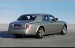 Rolls Royce Phantom, rear