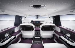 Rolls-Royce Phantom, 2018, rear seats