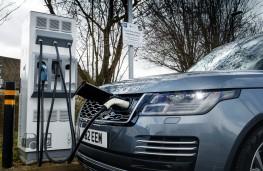 Range Rover P400e PHEV, 2018, charging