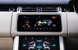 Range Rover P400e PHEV, 2018, display screen