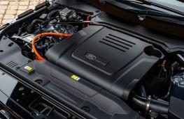 Range Rover P400e PHEV, 2018, engine