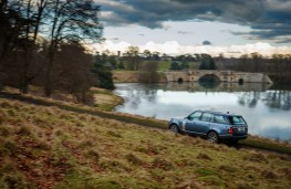 Range Rover P400e PHEV, 2018, off road, Blenheim Palace