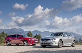 Kia Optima Sportswagon and PHEV saloon