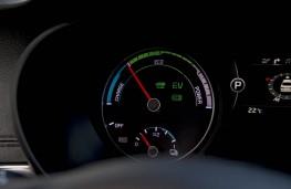 Kia Optima PHEV, power gauge