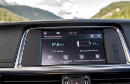 Kia Optima PHEV, display screen