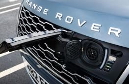 Range Rover P400e PHEV, 2018, plug in socket