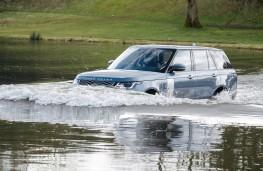 Range Rover P400e PHEV, 2018, wading