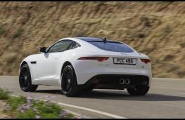 Jaguar F-Type Coupe rear action