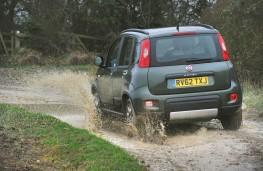 Fiat Panda rear action