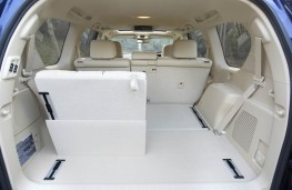 Toyota Land Cruiser boot