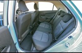Kia Picanto 1, rear seats