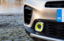 Kia Picanto X-Line, 2018, fog lamp detail