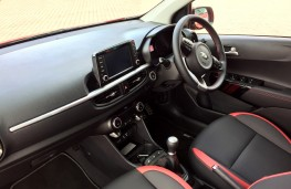 Kia Picanto GT-Line S, 2017, interior