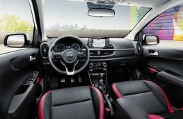 Kia Picanto GT Line, 2017, interior
