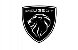 Peugeot logo, 2021, white background