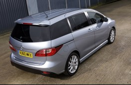 Mazda5, rear