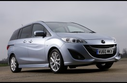 Mazda5, front