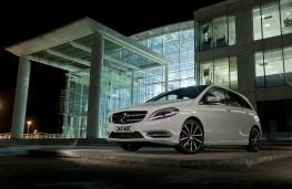 Mercedes B-Class Sport, moody