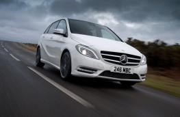 Mercedes B-Class Sport, driving
