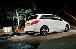 Mercedes B-Class Sport, rear