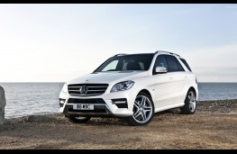 Mercedes ML350 CDi BlueTEC Sport, front