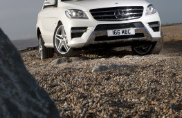 Mercedes ML350 CDi BlueTEC Sport, portrait