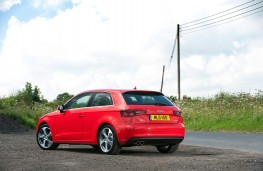 Audi A3 hatchback, rear