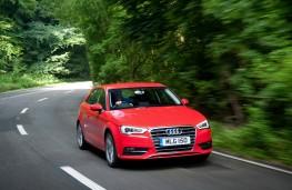 Audi A3 hatchback, action