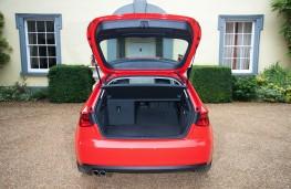 Audi A3 hatchback, boot