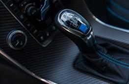 Volvo V60 Polestar, gear lever