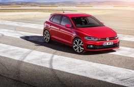 Volkswagen Polo GTI, 2018, front