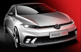Volkswagen Polo GTI, 2021, front