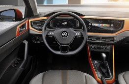 Volkswagen Polo, 2017, interior