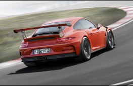 Porsche 911 GT3 RS, rear