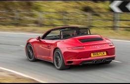 Porsche 911 Cabriolet, rear action