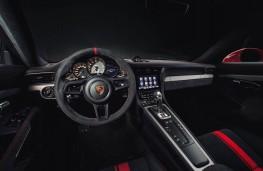 Porsche 911 GT3, dashboard
