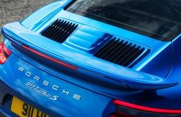Porsche 911 Turbo S, rear lid