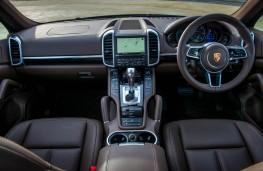 Porsche Cayenne, dashboard